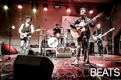 Goodbeats: Thilo (Vocals), Johannes (Bass), Igor (Schlagzeug), Julian (Gitarre)